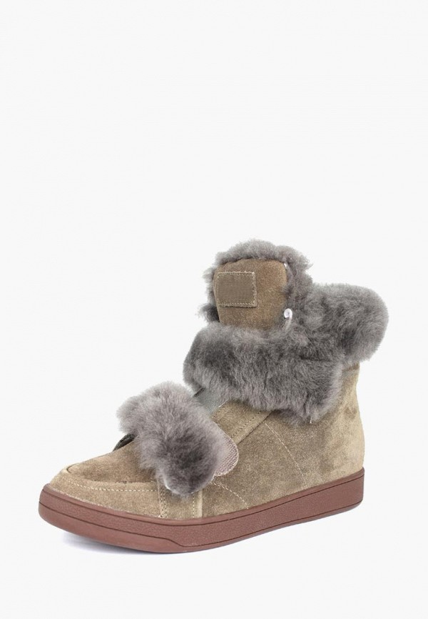 женские ботинки belletta, бежевые