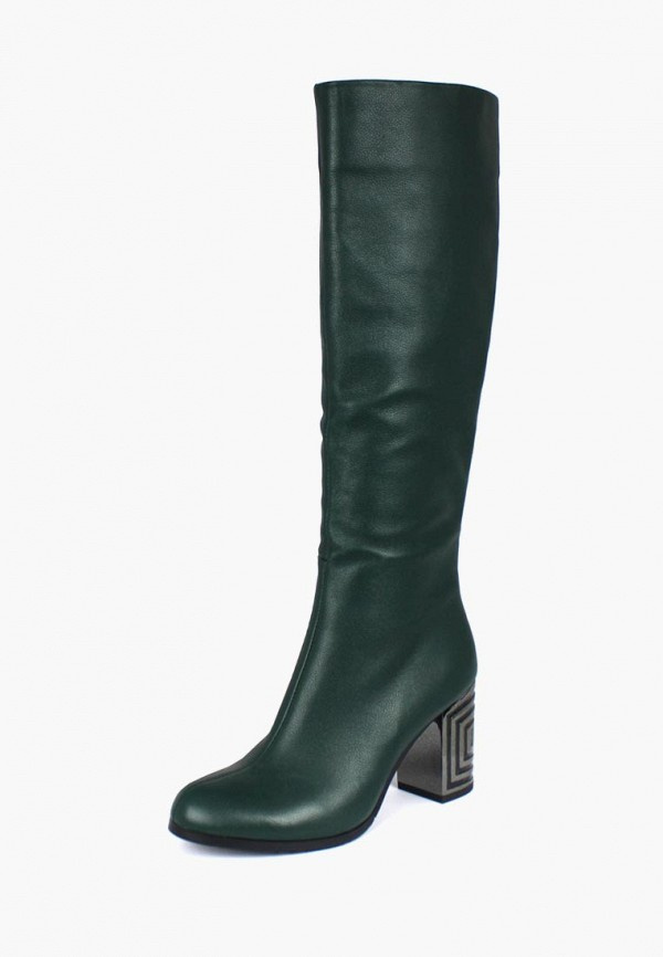 женские сапоги blizzarini, зеленые