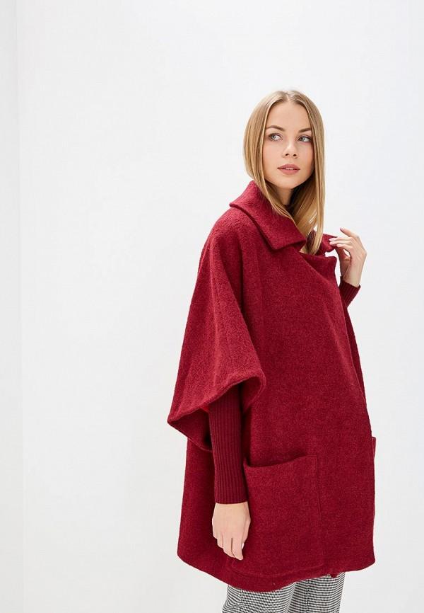 Купить Пальто Alina Assi, mp002xw1h1ag, бордовый, Осень-зима 2018/2019