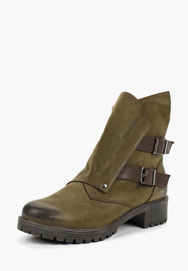 Ботинки Shoiberg Shoiberg MP002XW1H1DA ботинки shoiberg ботинки на каблуке