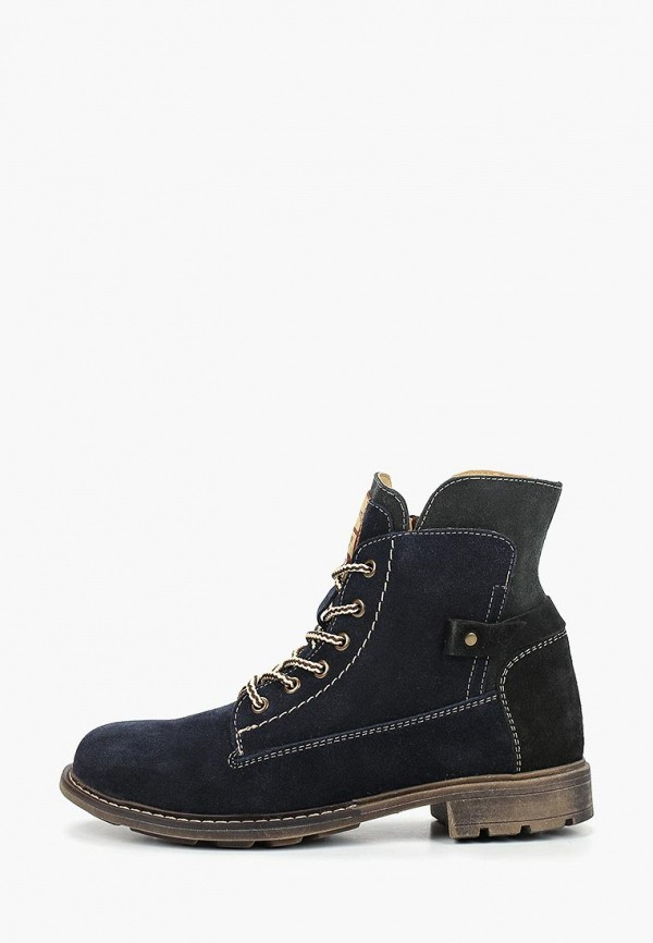 женские ботинки shoiberg, синие