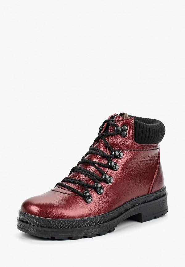 Купить Ботинки Shoiberg, mp002xw1h1do, бордовый, Осень-зима 2017/2018
