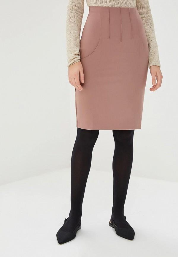 женская прямые юбка ruxara, бежевая