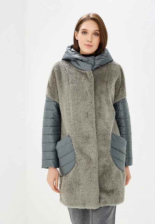 Купить Куртка утепленная Electrastyle, mp002xw1h1gc, зеленый, Осень-зима 2018/2019