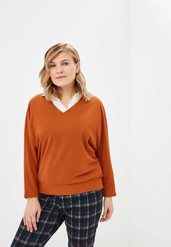 женский пуловер svesta, оранжевый