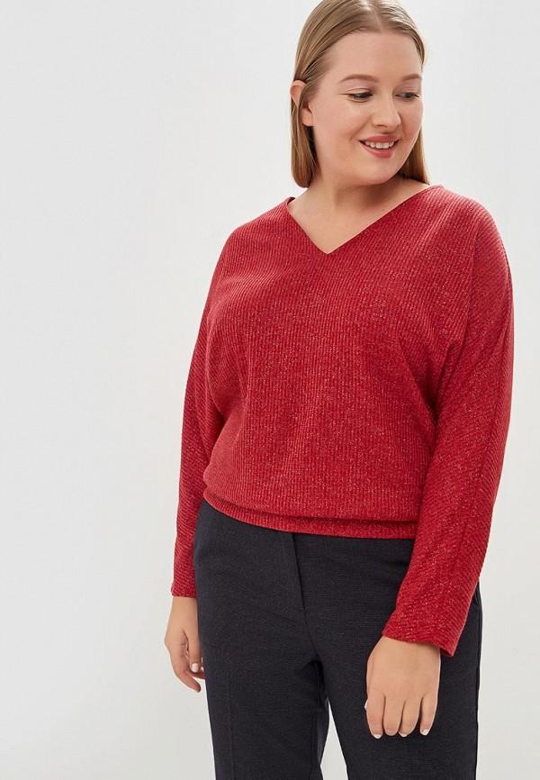 женский пуловер svesta, красный