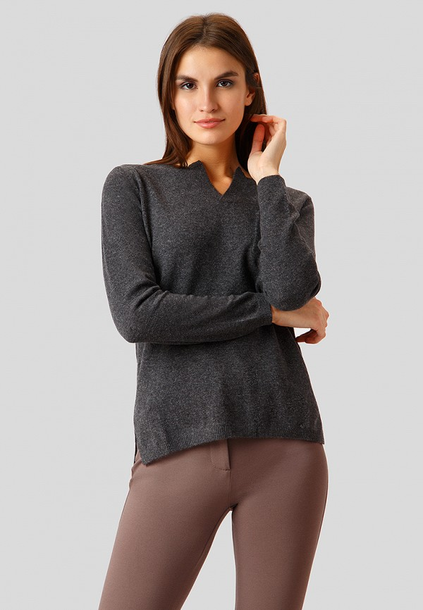Купить Пуловер Finn Flare, mp002xw1h1tr, серый, Осень-зима 2018/2019