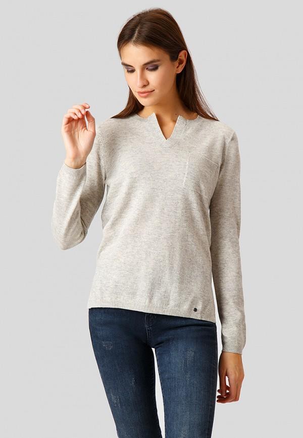 Купить Пуловер Finn Flare, mp002xw1h1ts, серый, Осень-зима 2018/2019