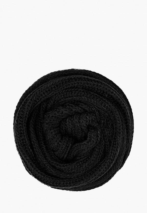 женский шарф finn flare, черный