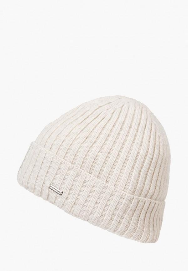 женская шапка finn flare, белая