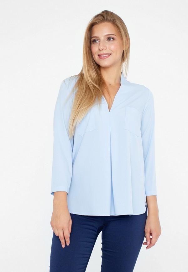 женская блузка eliseeva olesya, голубая