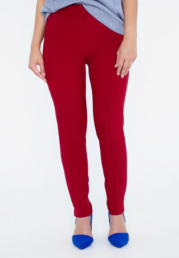 женские классические брюки eliseeva olesya, бордовые