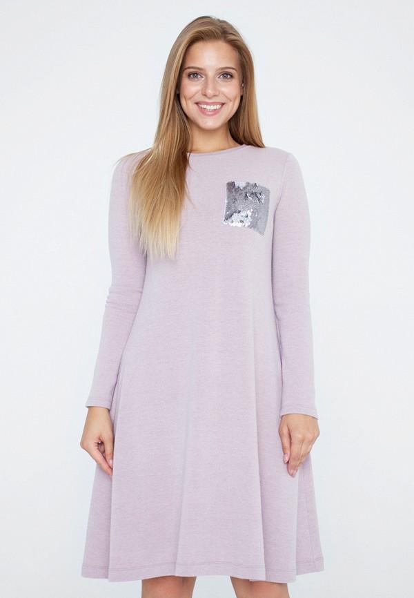 женское платье миди eliseeva olesya, розовое