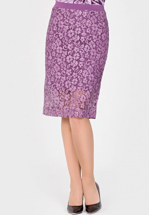 Фото - Женскую юбку Filigrana фиолетового цвета