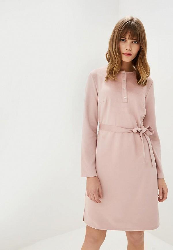 женское повседневные платье tom farr, розовое