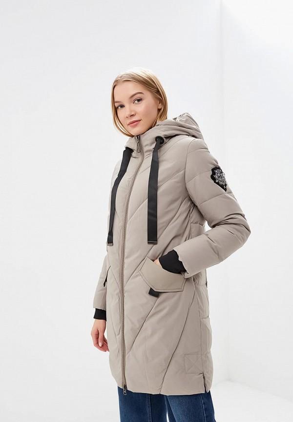 женская куртка tom farr, бежевая