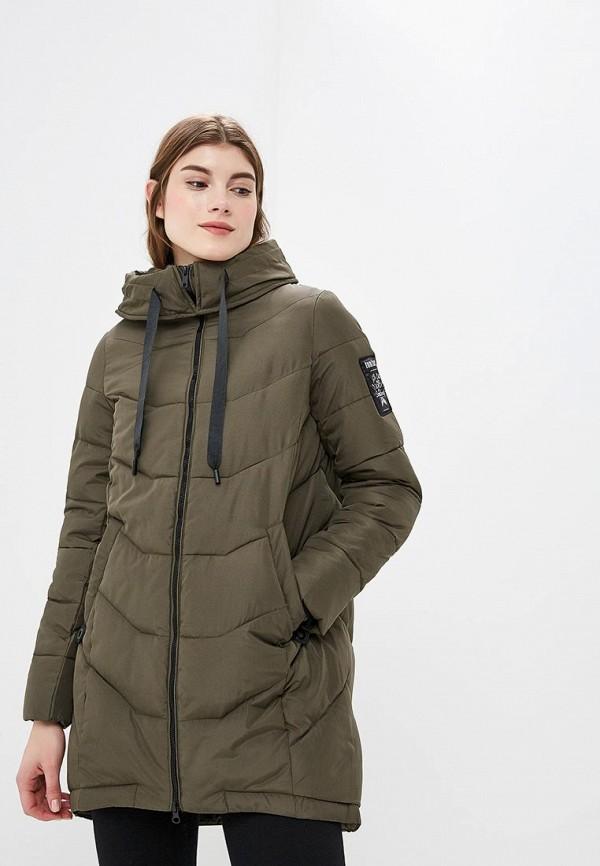 женская куртка tom farr, хаки