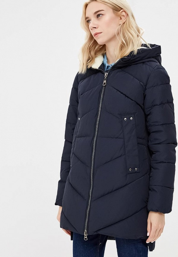 женская куртка tom farr, синяя