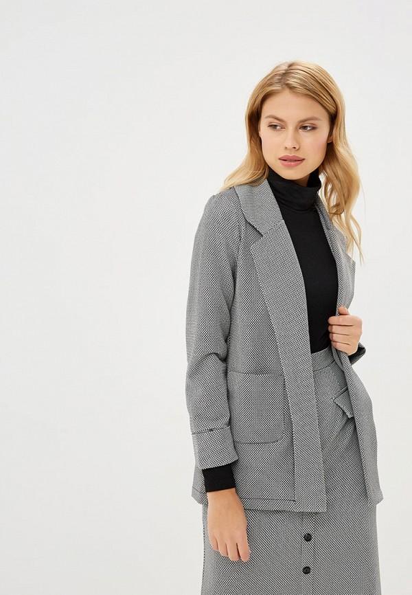 женский пиджак sahera rahmani, серый