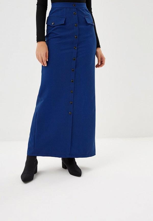 женская прямые юбка sahera rahmani, синяя