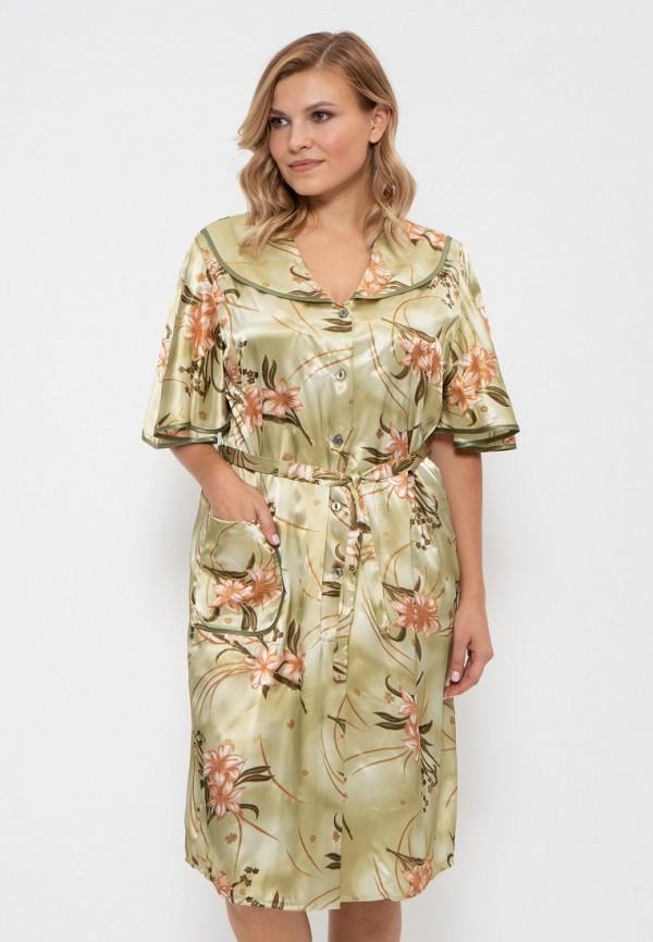 Халат домашний Cleo Cleo MP002XW1H2O5 платье cleo cleo mp002xw1982e