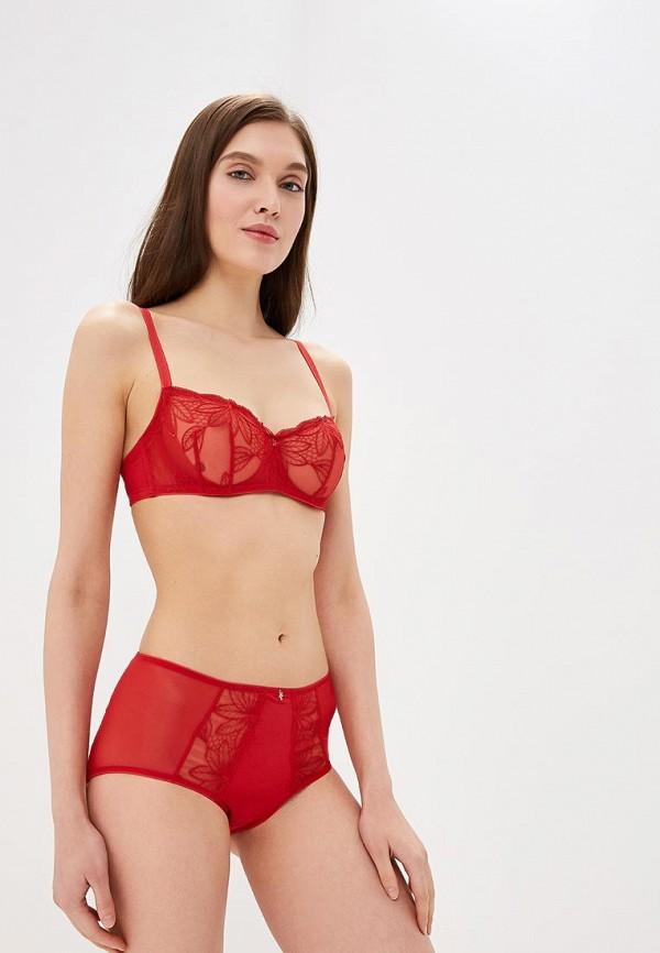женские трусы-слипы marc&andre, красные