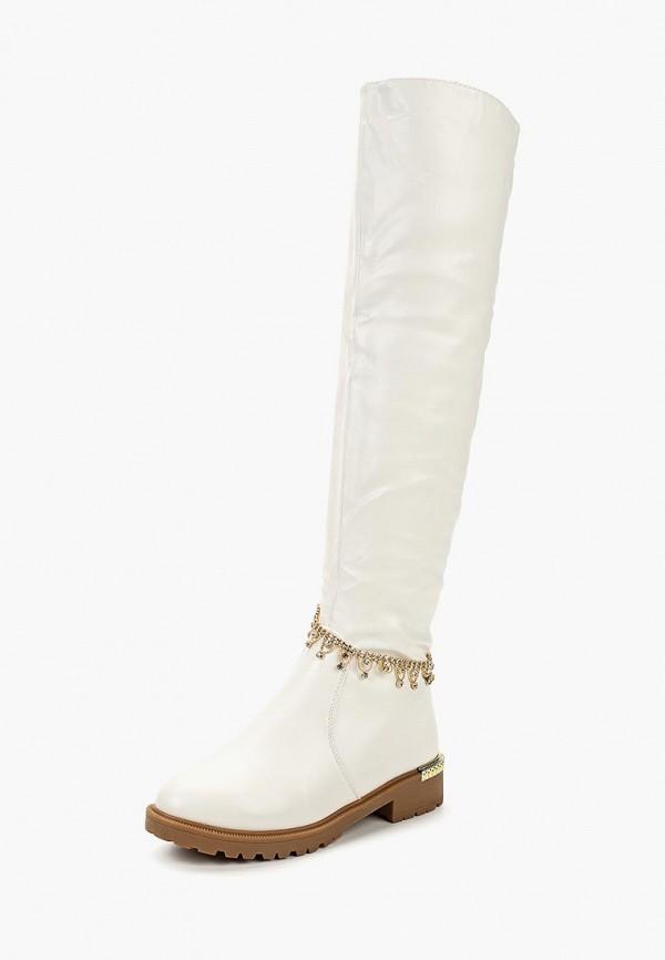 женские ботфорты saivvila, белые