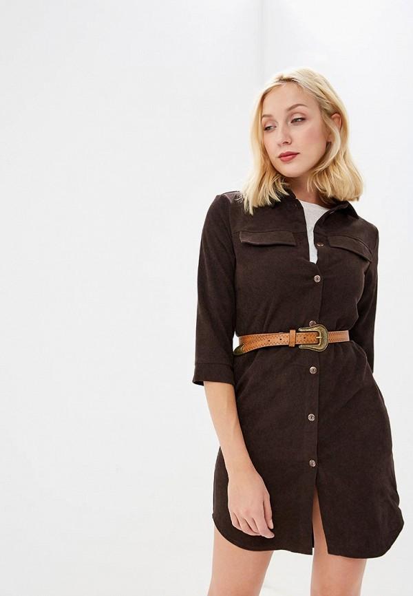 женское платье xarizmas, коричневое
