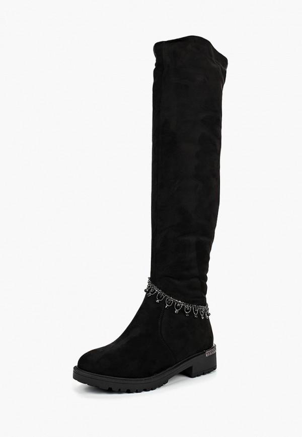 женские ботфорты saivvila, черные