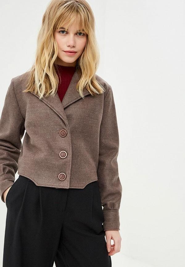 женская куртка viserdi, коричневая