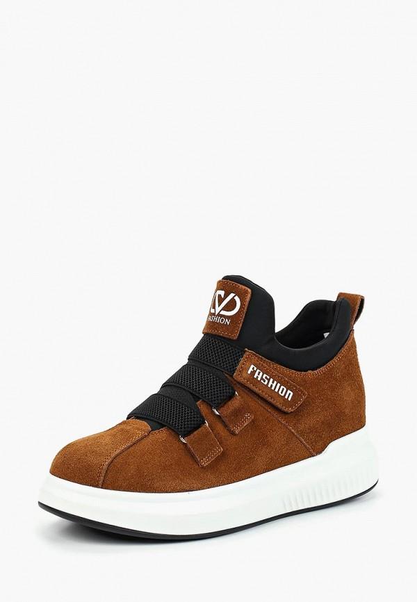 женские кроссовки chezoliny, коричневые
