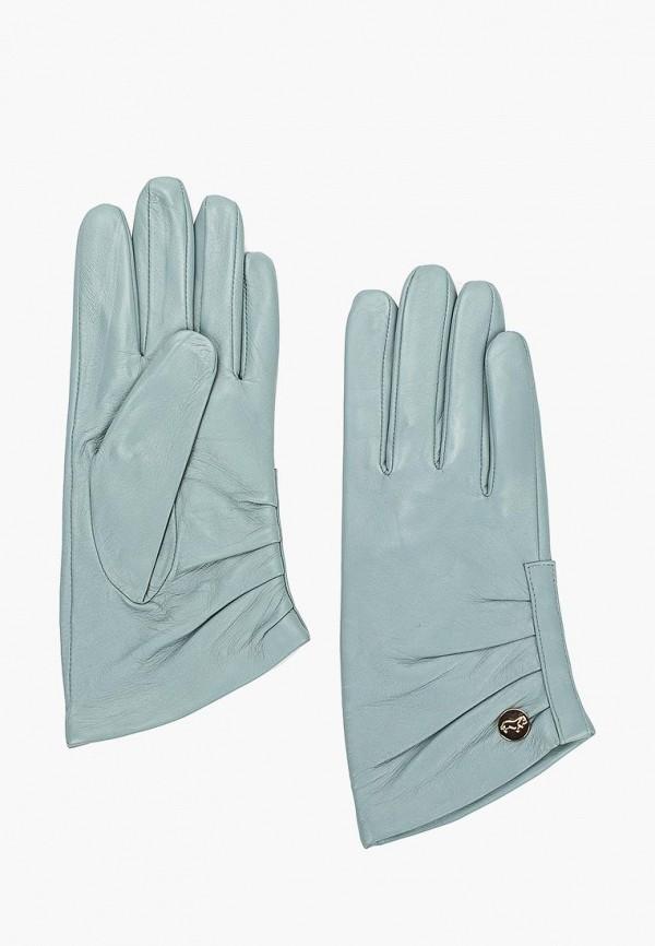 женские перчатки labbra, голубые
