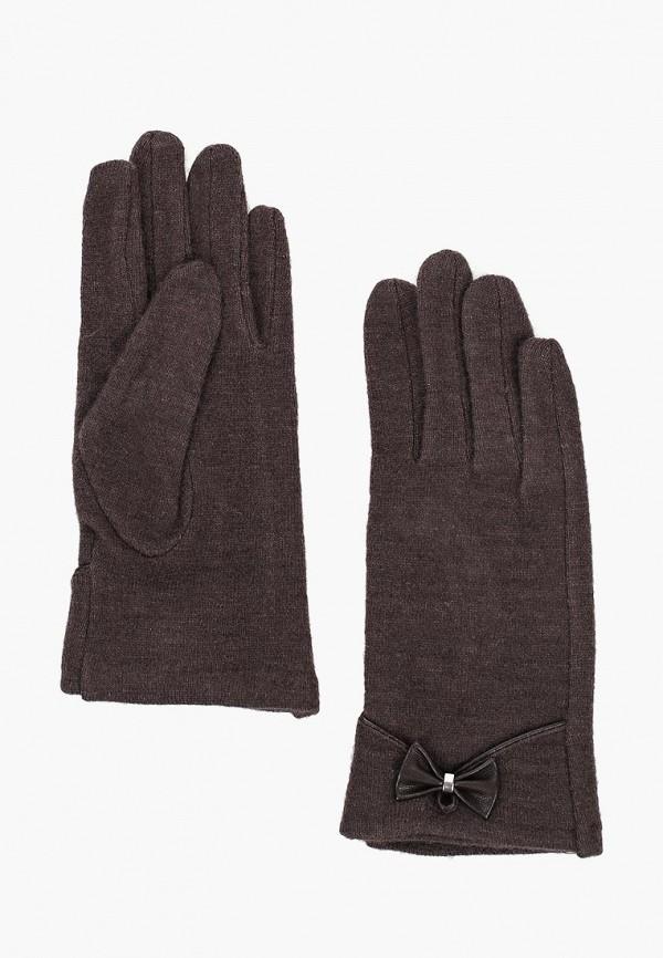 женские перчатки labbra, коричневые