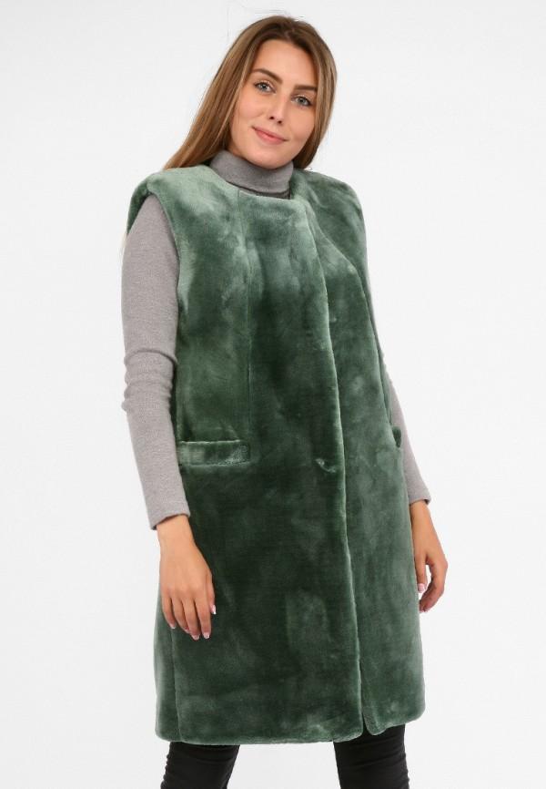 женский жилет sfn, зеленый