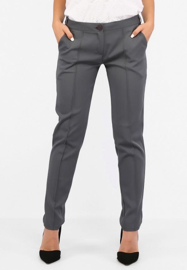 женские классические брюки sfn, серые