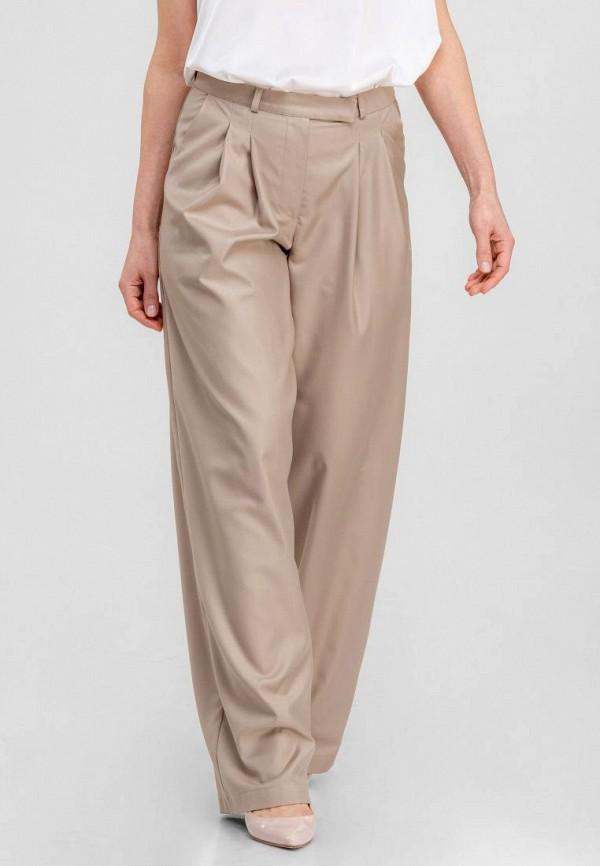 женские повседневные брюки dressinjoy by lipashova & malko, бежевые