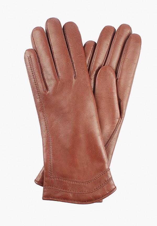 Перчатки  коричневый цвета