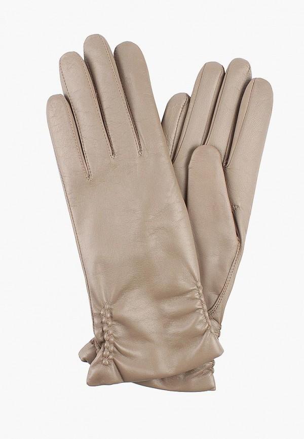 Перчатки  бежевый цвета