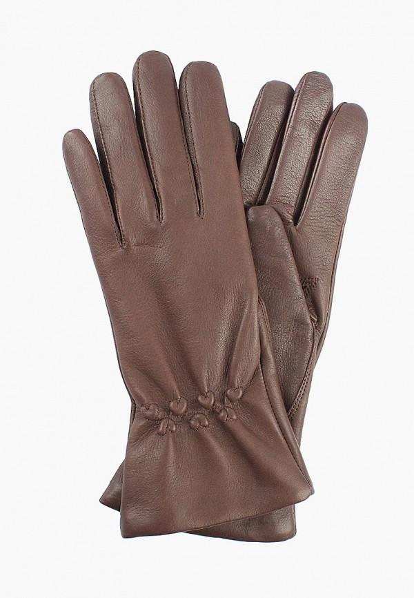 женские перчатки edmins, коричневые
