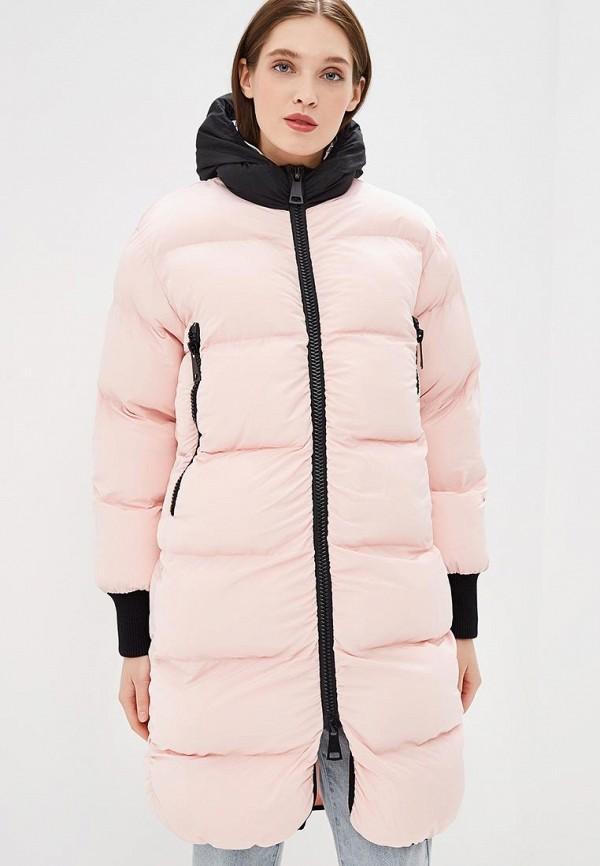 женская куртка fwd lab, розовая