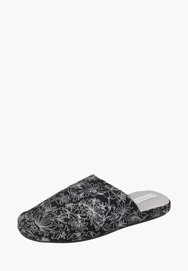 женские тапочки de fonseca, черные