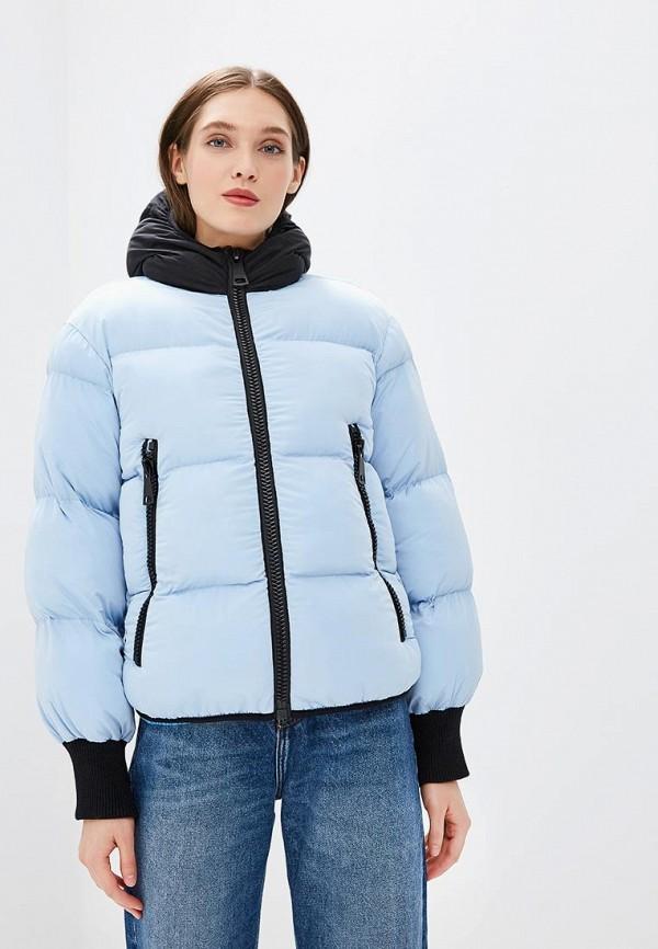 женская куртка fwd lab, голубая