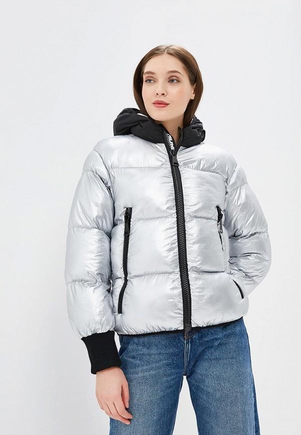 женская куртка fwd lab, серебряная
