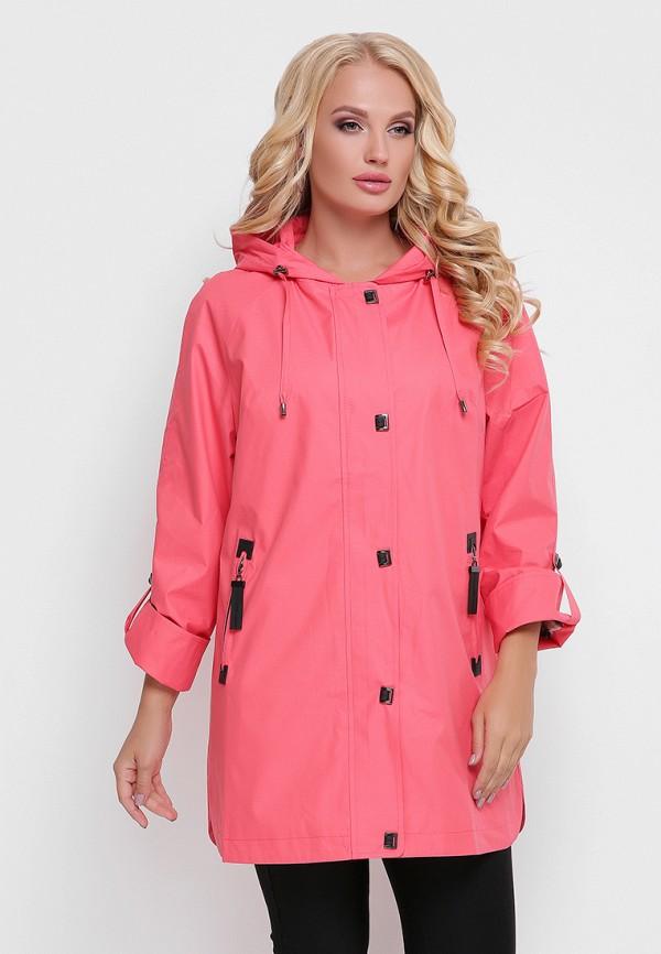 женская куртка vlavi, розовая