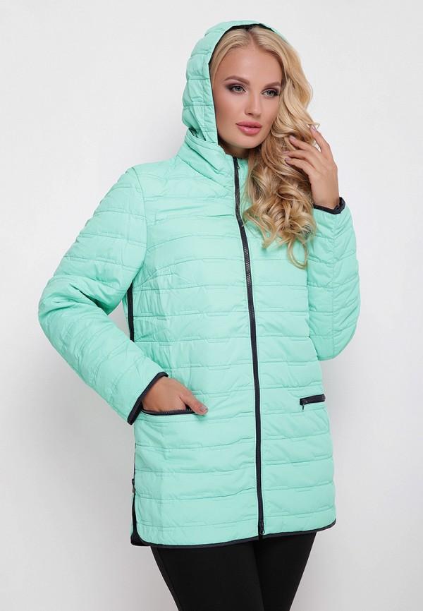 женская куртка vlavi, бирюзовая
