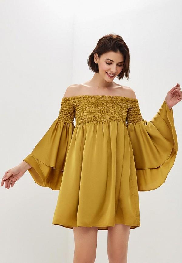 женское платье ruxara, желтое
