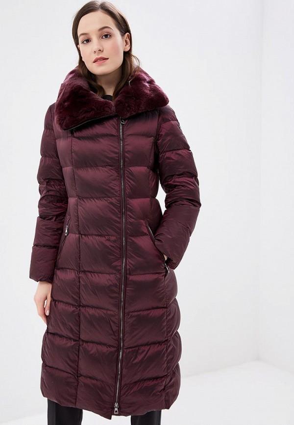женская куртка conso wear, бордовая