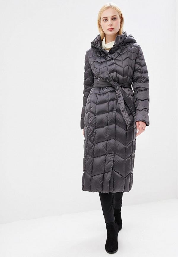 женский пуховик conso wear, серый