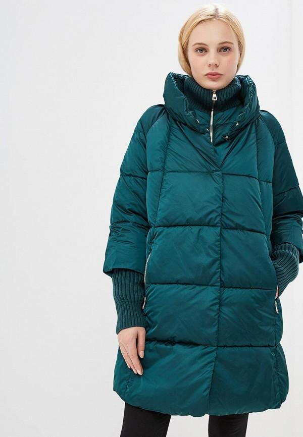 женская куртка conso wear, зеленая