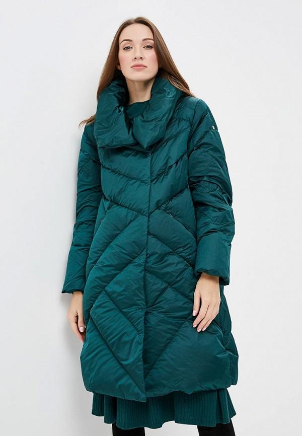 женский пуховик conso wear, зеленый